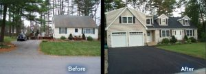 before after custom homes